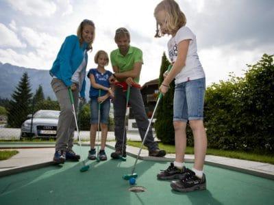 Mini golf course Abtenau © TVB Abtenau (1)