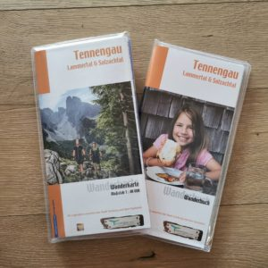 Wanderkarte Tennengau (2)