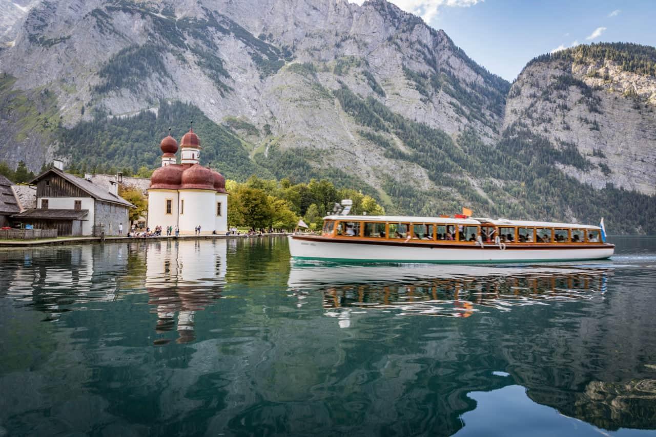 Boot am Königssee (c)Berchtesgadener Land Tourismus