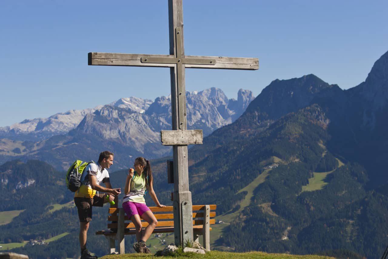 Rocherhöhe Wanderung Abtenau