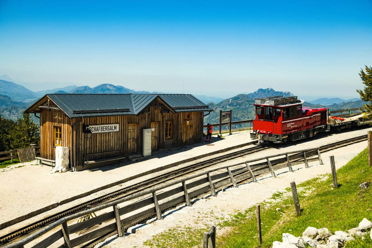Schafbergbahn (c)SalzburgerLand Tourismus