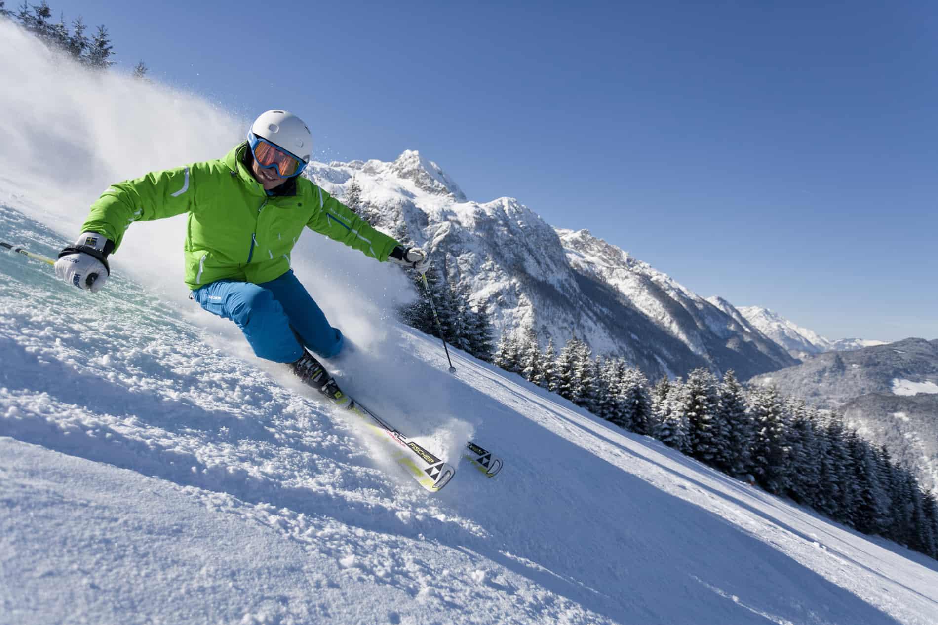 Skifahren in Salzburg (c)TVB Abtenau