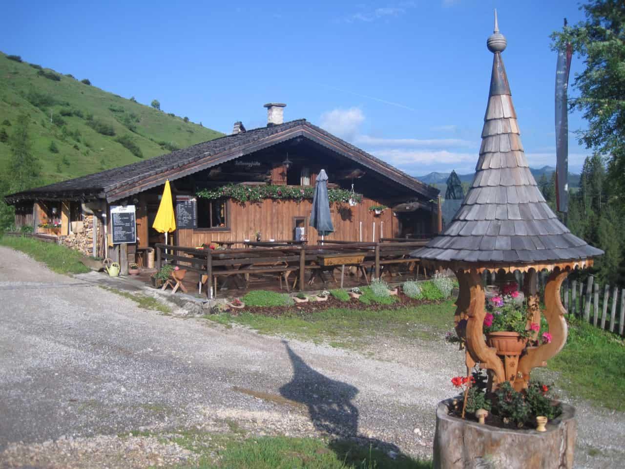 Rettenegghütte (c)TVB Abtenau